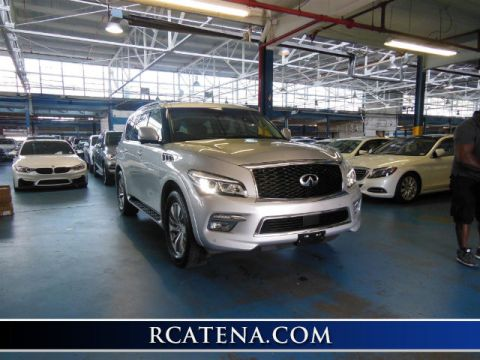 Pre-Owned 2015 INFINITI QX80 Base 4WD
