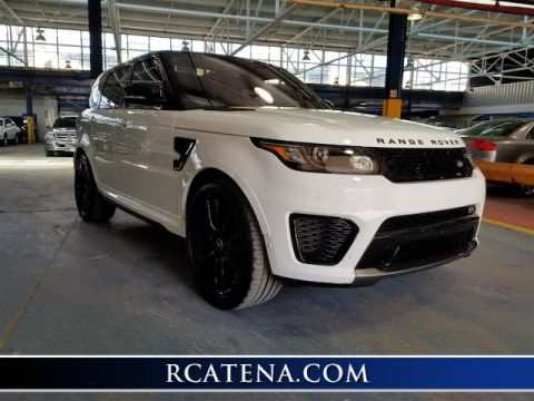 Pre-Owned 2017 Land Rover Range Rover Sport 5.0L Supercharged SVR 4WD