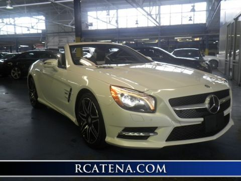 Pre-Owned 2015 Mercedes-Benz SL 550  RWD Convertible