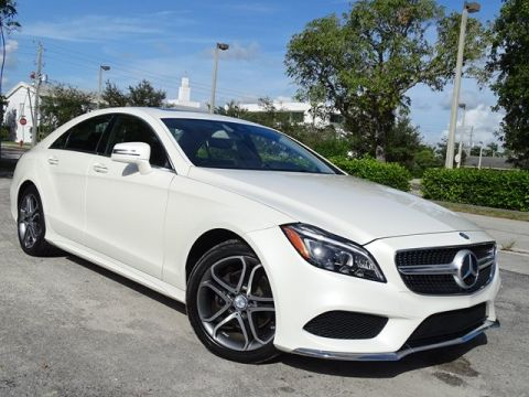 Pre-Owned 2015 Mercedes-Benz CLS CLS 400 With Navigation & AWD