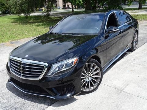 Pre-Owned 2014 Mercedes-Benz S-Class S 63 AMG® With Navigation & AWD