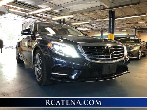 Pre-Owned 2014 Mercedes-Benz S-Class S 550 With Navigation & AWD