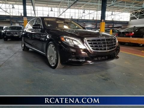 Pre-Owned 2017 Mercedes-Benz S-Class Maybach S 600 With Navigation