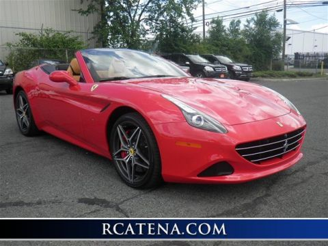Pre-Owned 2016 Ferrari California T RWD Convertible