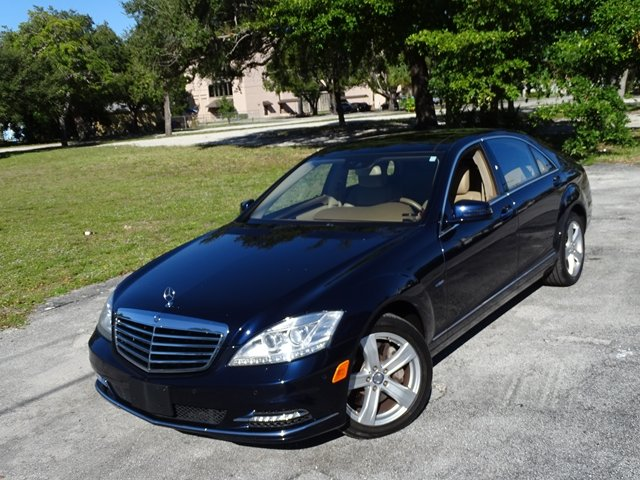 Pre-Owned 2012 Mercedes-Benz S-Class S 550 With Navigation & AWD