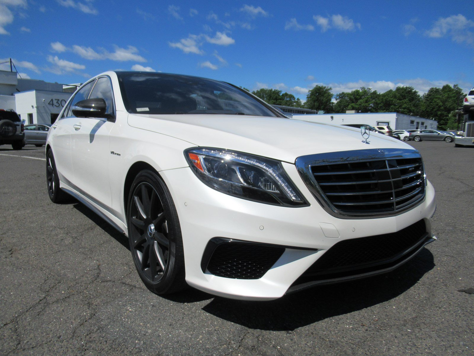 Pre-Owned 2017 Mercedes-Benz S-Class AMG® S 63 AWD