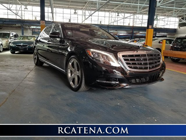 Pre Owned 2016 Mercedes Benz S Class Maybach S 600