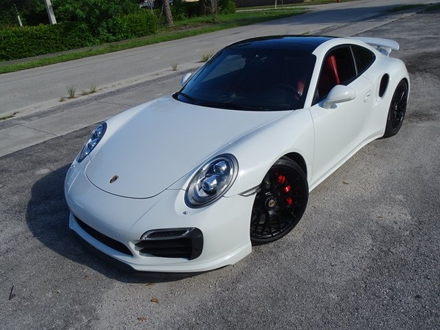 Pre-Owned 2015 Porsche 911 Turbo S With Navigation & AWD