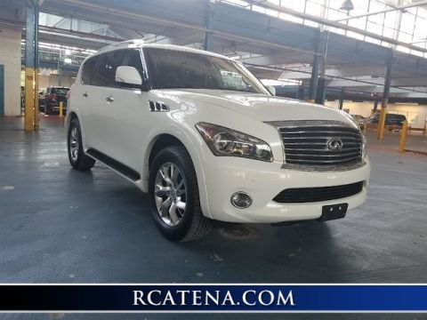 Pre-Owned 2012 INFINITI QX56 8-passenger With Navigation & 4WD