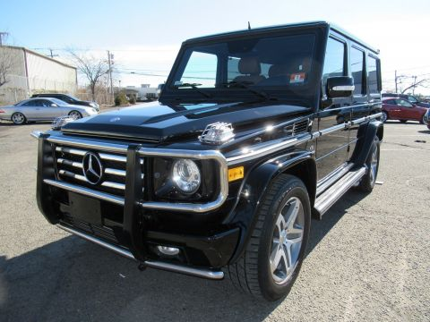 Pre-Owned 2009 Mercedes-Benz G-Class 5.5L AMG® With Navigation & AWD